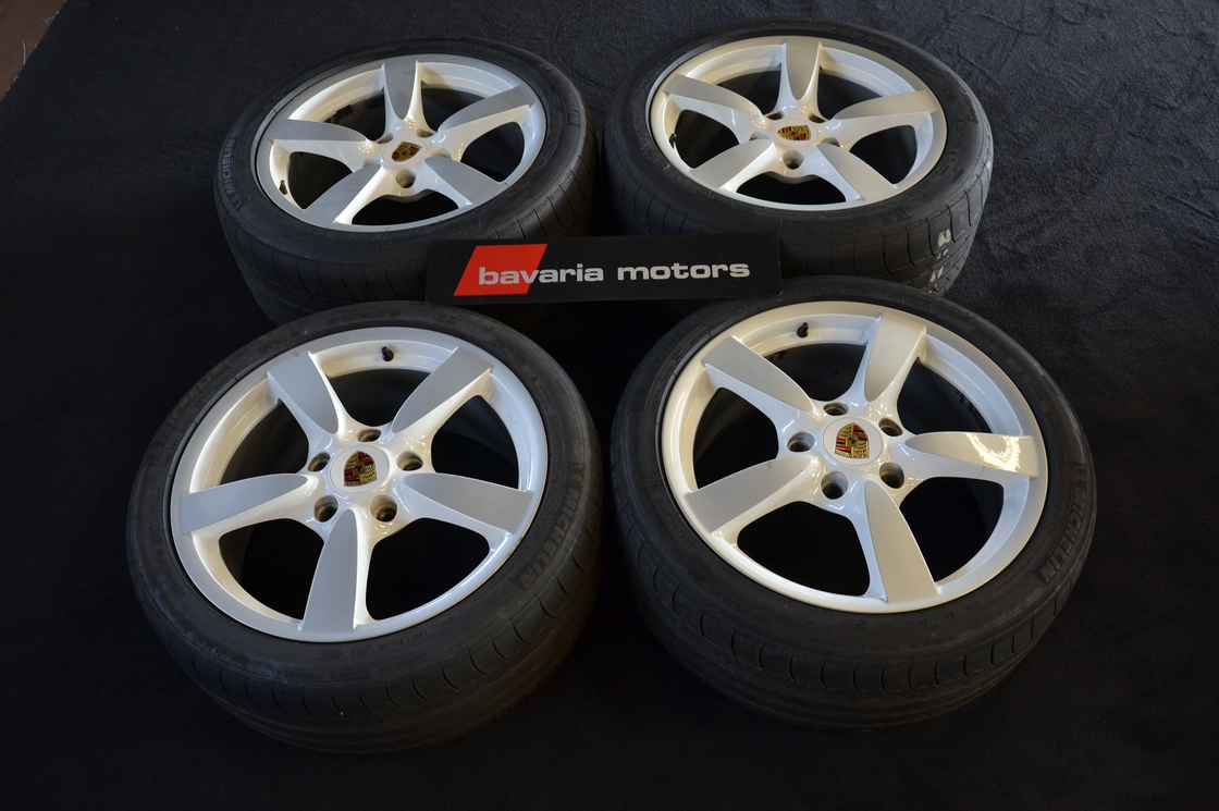 "DSC_0788.jpg - Porsche Alloy Wheels + Tyre set  Porsche Cayman 18"" - Wheel rims - Bavaria Motors"